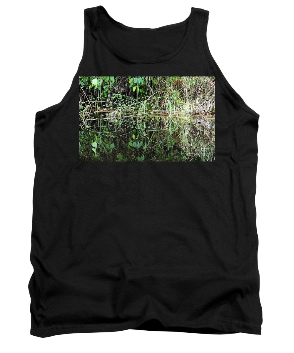 River Tank Top featuring the photograph River Reflections 2 by Vivian Christopher