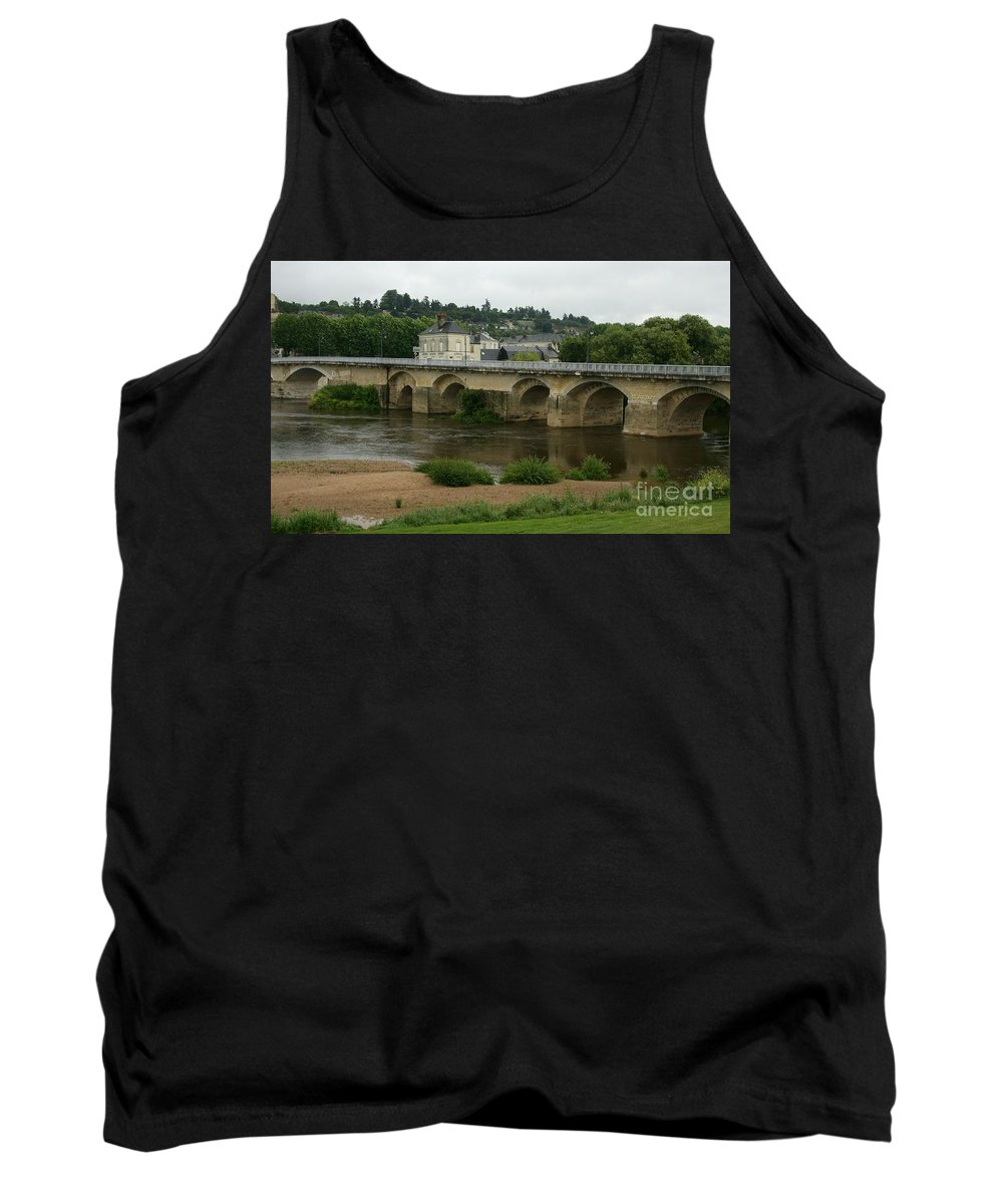 River Tank Top featuring the photograph River Vienne - France by Christiane Schulze Art And Photography