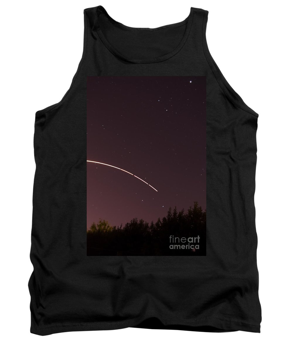 Cape Tank Top featuring the photograph Rocket Launch by Photos By Cassandra