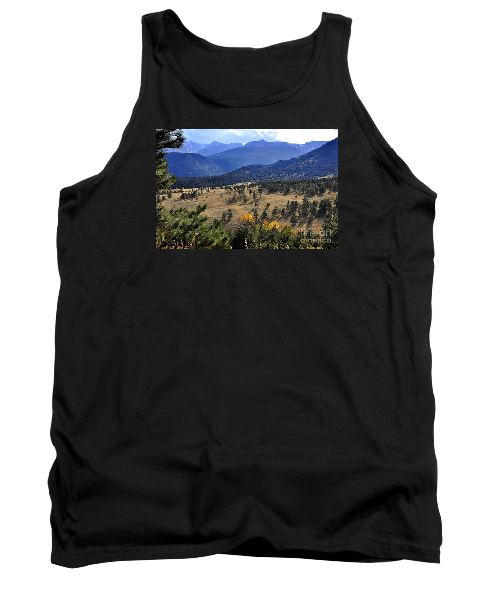 Nature Tank Top featuring the photograph Rocky Mountain Evening by Nava Thompson