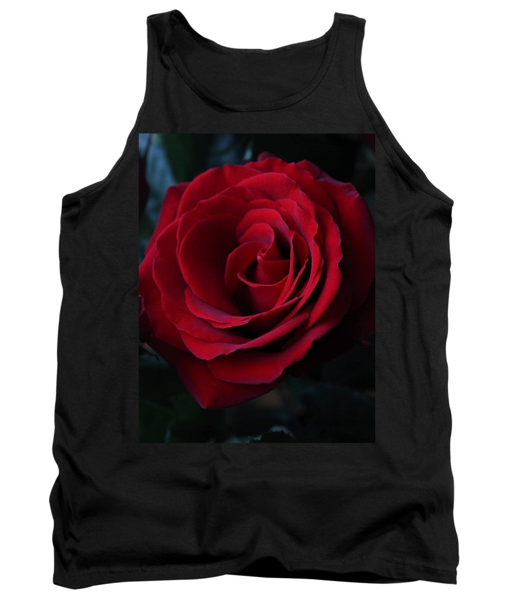 Rose Tank Top featuring the photograph Romancing The Rose by Natalie Ortiz