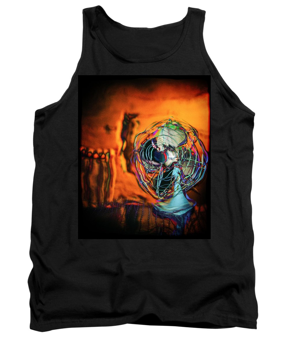 Blower Tank Top featuring the photograph Room Fan by YoPedro