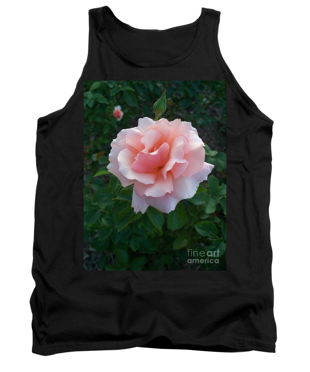 Pink Tank Top featuring the photograph Rose by Eric Schiabor