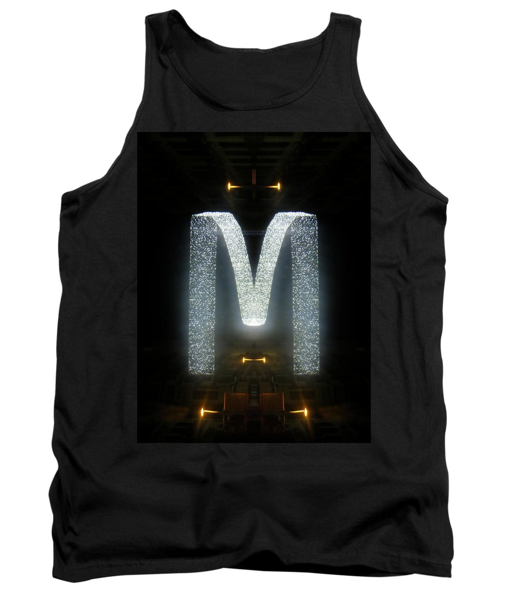 Abstract Tank Top featuring the photograph Round Midnight by Candee Lucas