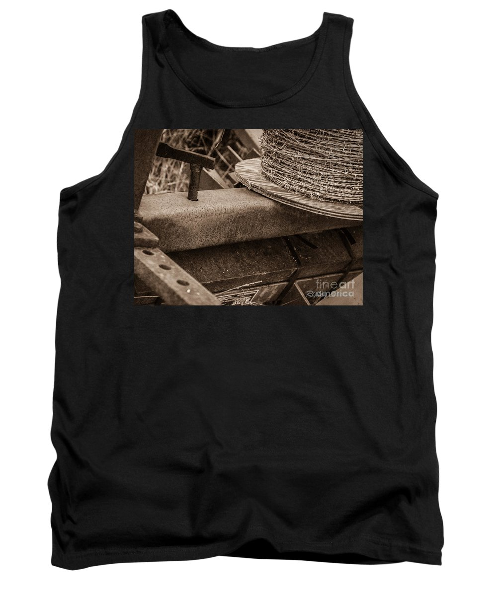 Tank Top featuring the photograph Rusty Barb by Shawn Ripley