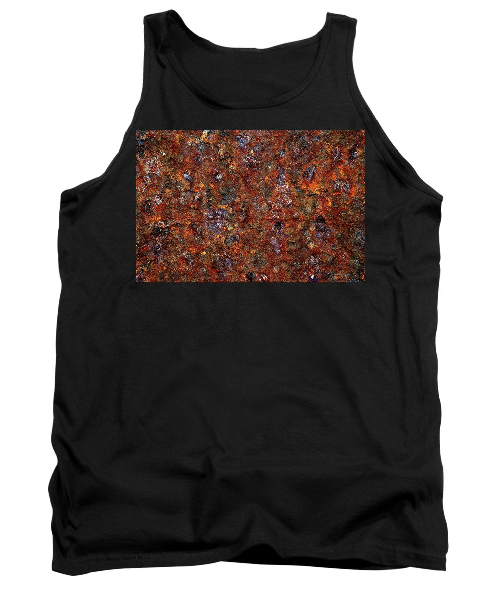 Texas Tank Top featuring the photograph Rusty by Erich Grant