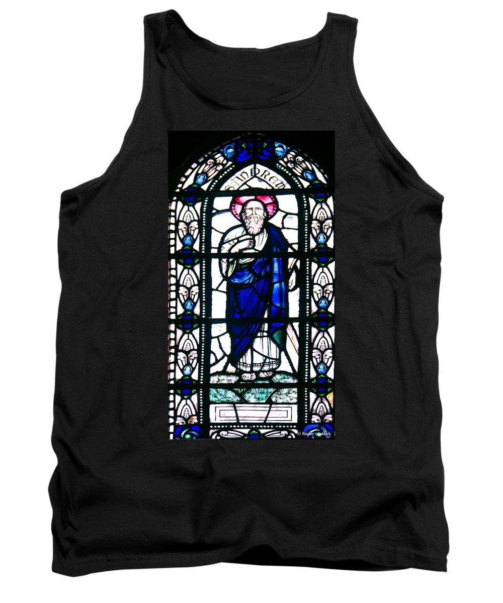Saint Andrew Tank Top featuring the photograph Saint Andrew by Roger Wedegis