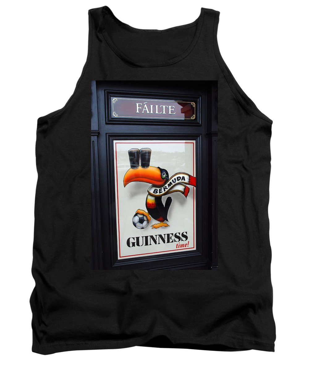 Signs Tank Top featuring the photograph Samus O' Tucan by John Schneider