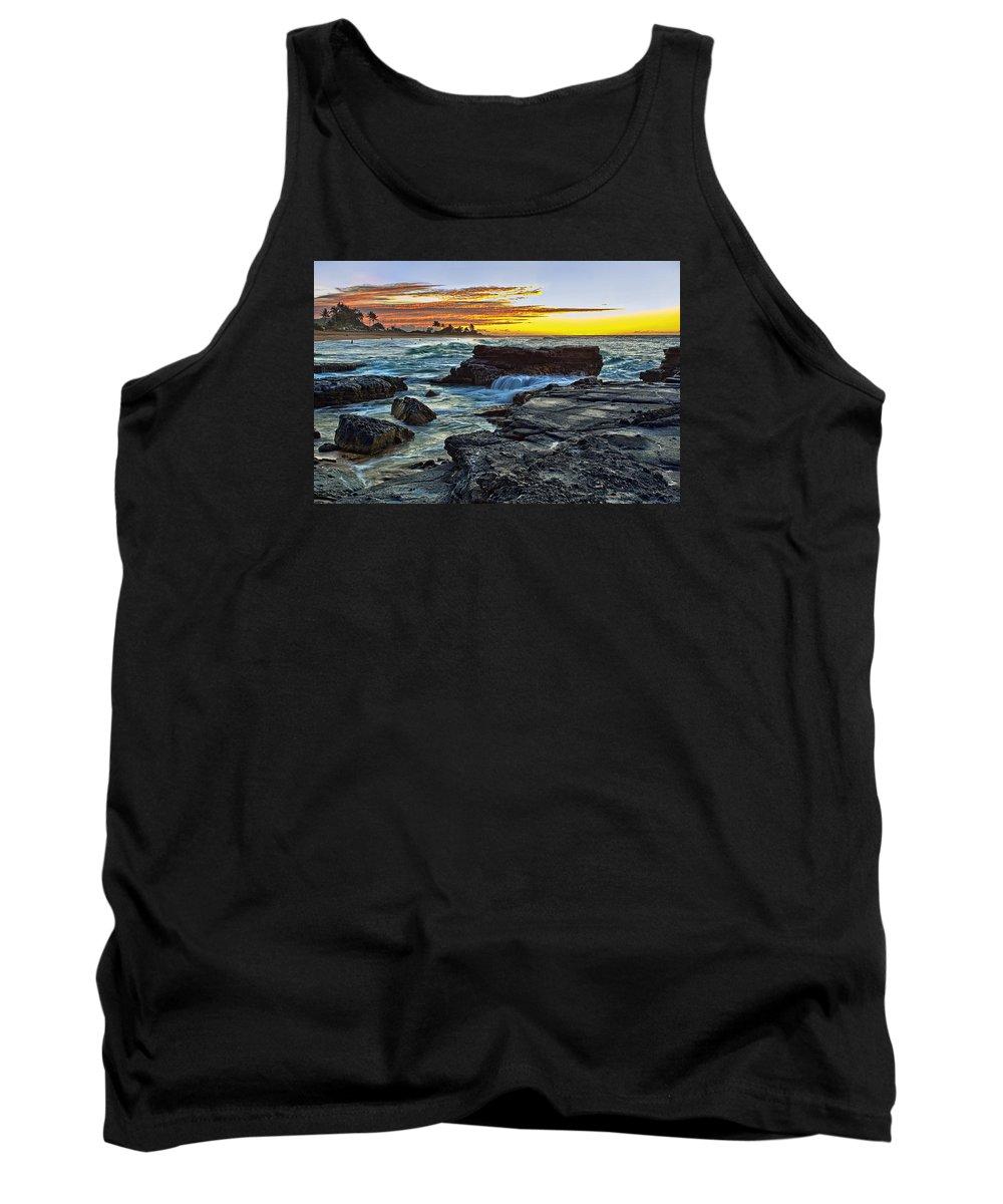 Landscape Tank Top featuring the photograph Sandy Beach Sunrise by Marcia Colelli