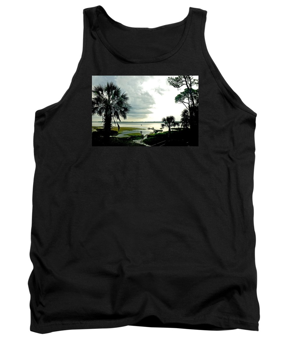 Seascape Tank Top featuring the photograph Scallop Waters by Norman Johnson