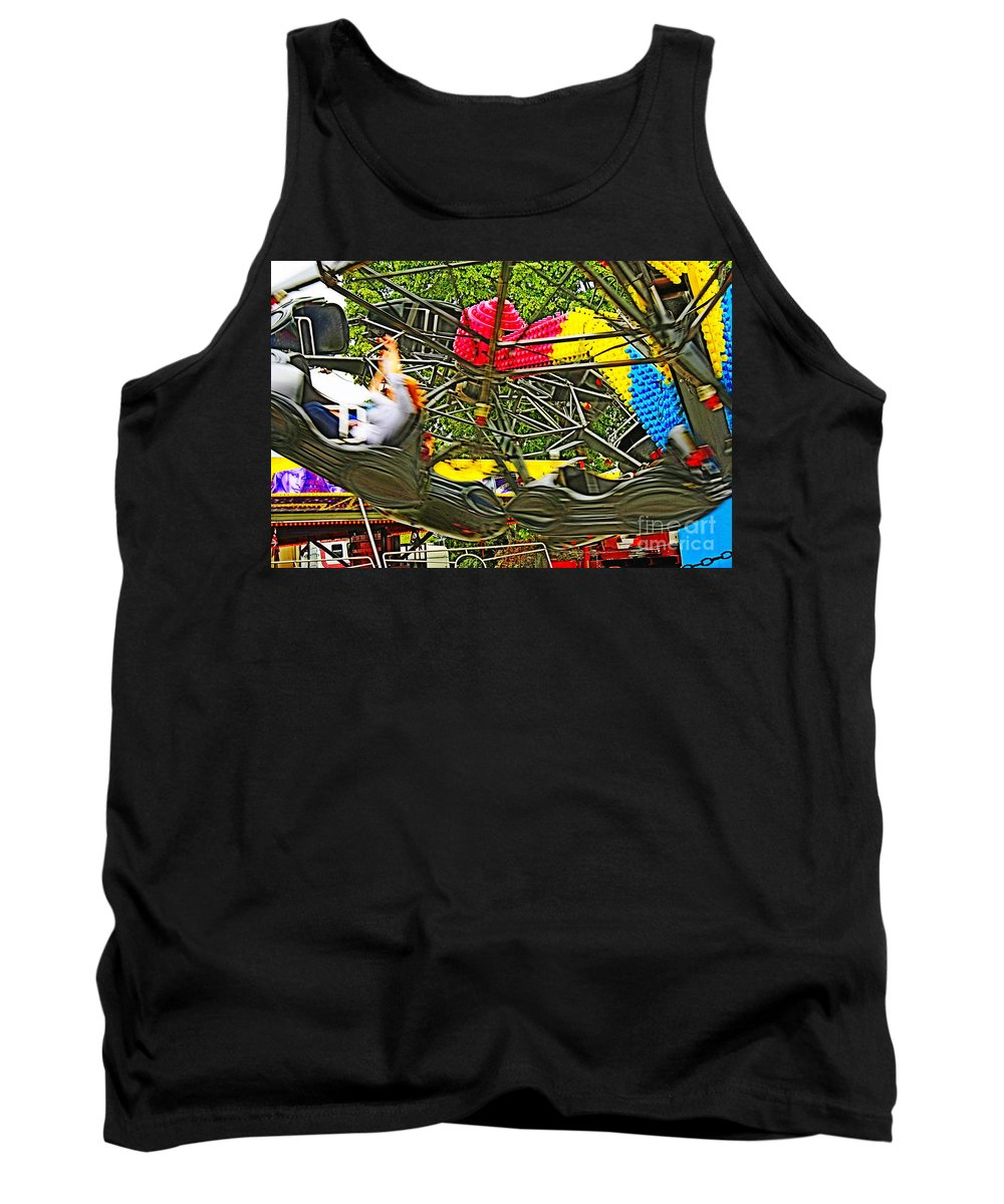 Tristar Tank Top featuring the photograph Scream If You Want To Go Faster by Terri Waters