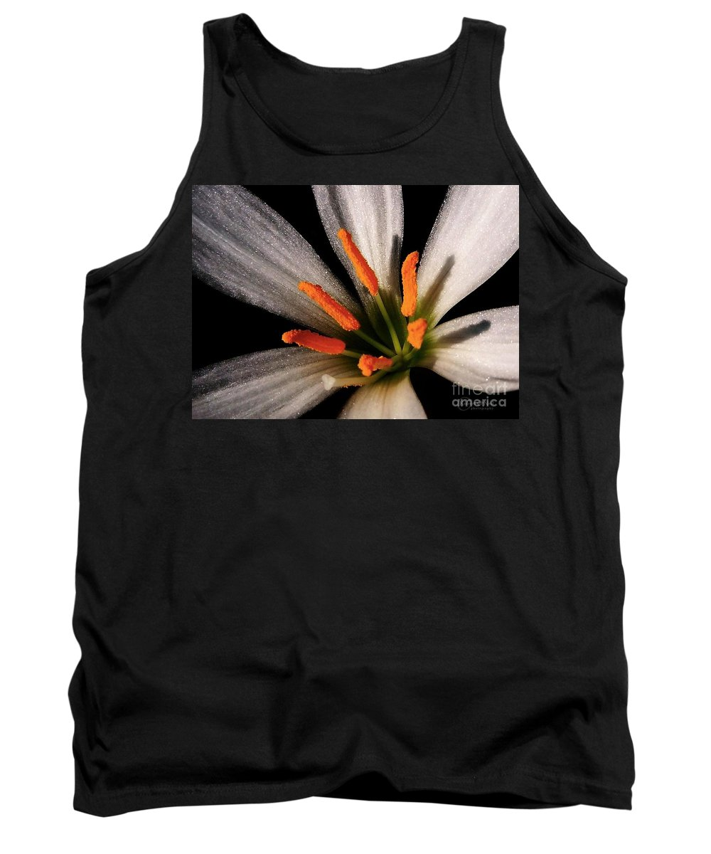 Flower Tank Top featuring the photograph Seduction by Robert ONeil
