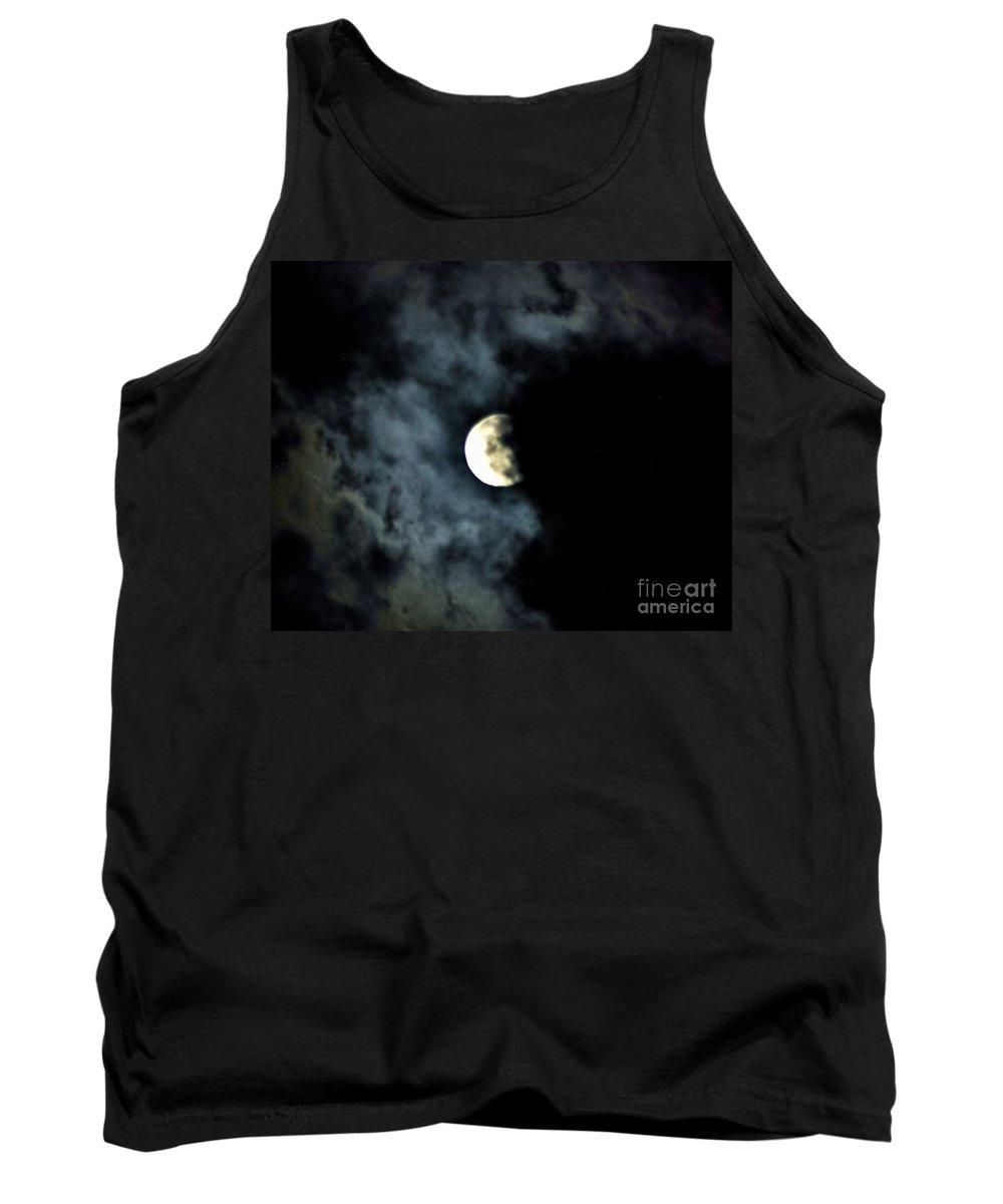 Supermoon Tank Top featuring the photograph Shaded by Angela J Wright