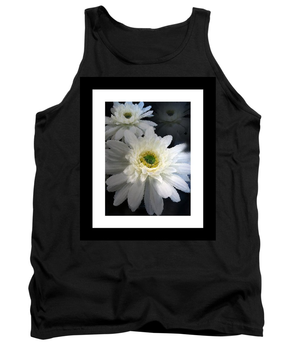 #floral Tank Top featuring the photograph Shadow Dancer by Debbie Nobile