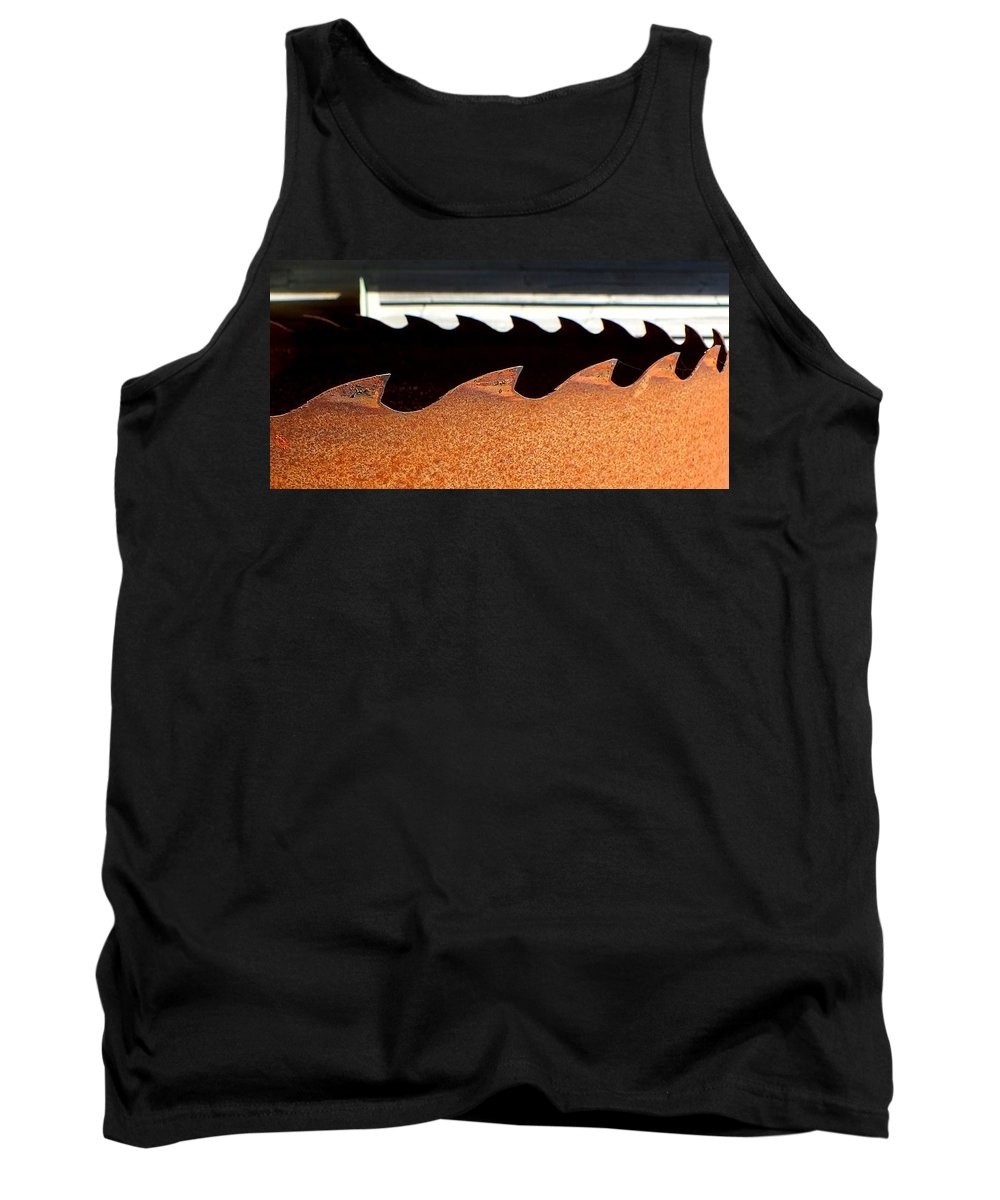 Hopper Tank Top featuring the photograph Sharks by Guy Pettingell