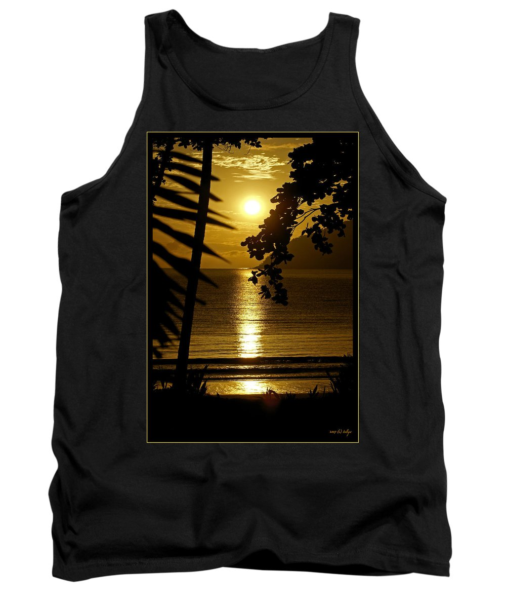 Landscapes Tank Top featuring the photograph Shimmer by Holly Kempe