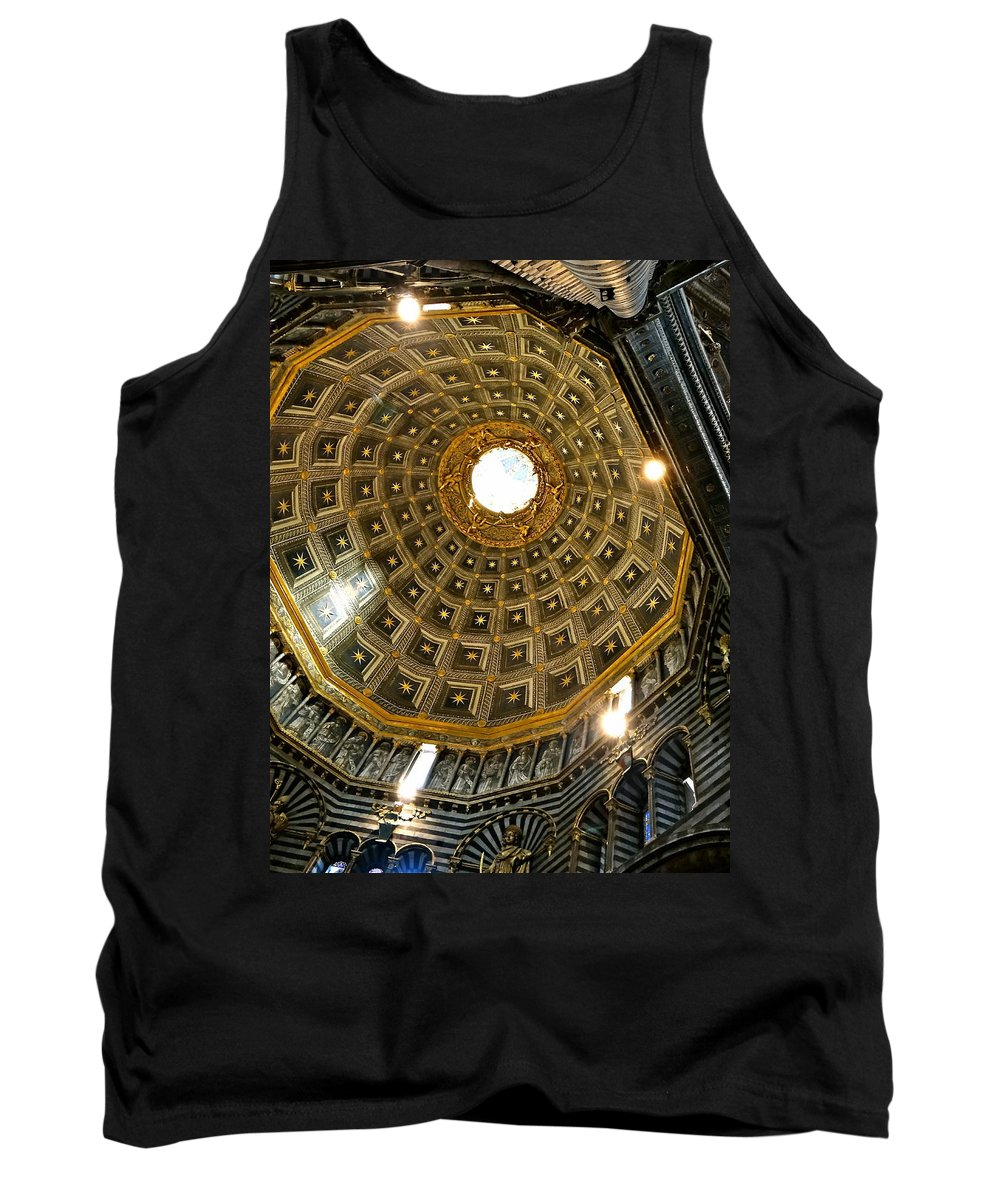 Siena Tank Top featuring the photograph Siena Duomo by Ira Shander