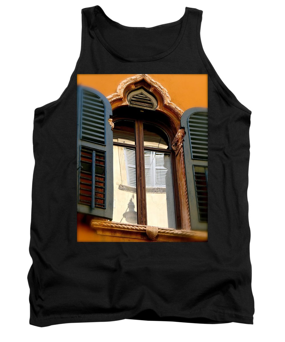 Verona Tank Top featuring the photograph Silent Lace by Ira Shander