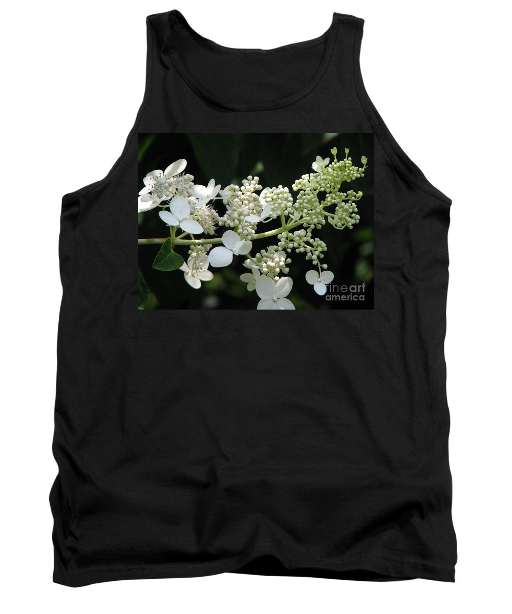 Hydrangea Tank Top featuring the photograph Simply by Amanda Barcon