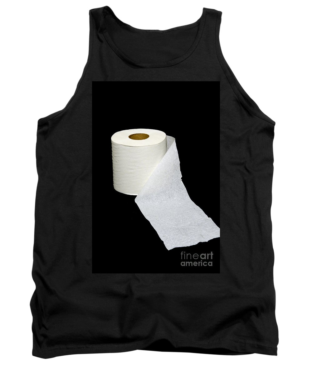Paul Ward Tank Top featuring the photograph Single Ply Toilet Paper by Paul Ward