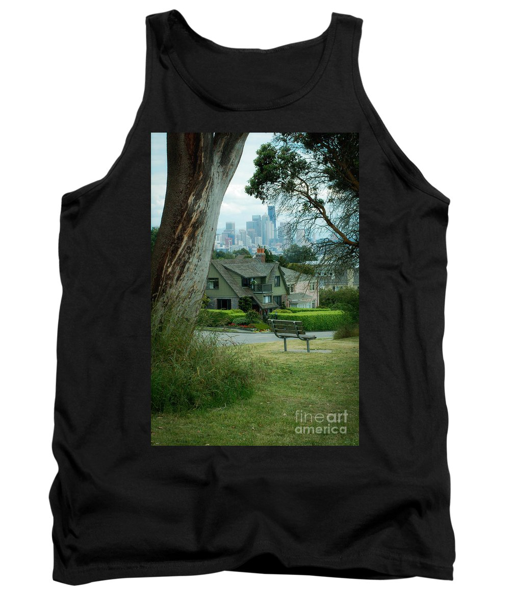 Sky Tank Top featuring the photograph Skyline From Magnolia 4 by Rich Priest