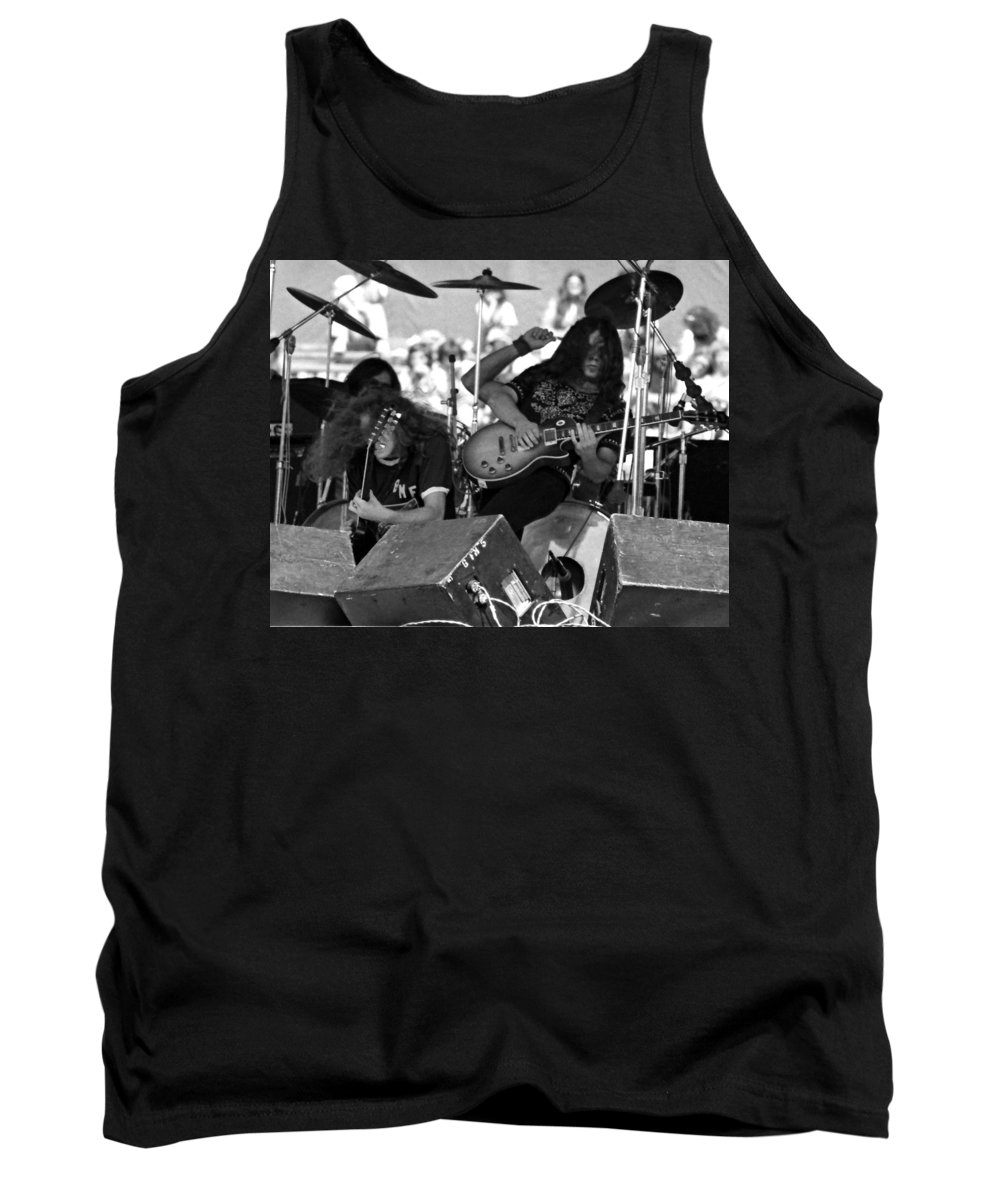 Lynyrd Skynyrd Tank Top featuring the photograph Skynyrd #16 Crop 2 by Ben Upham