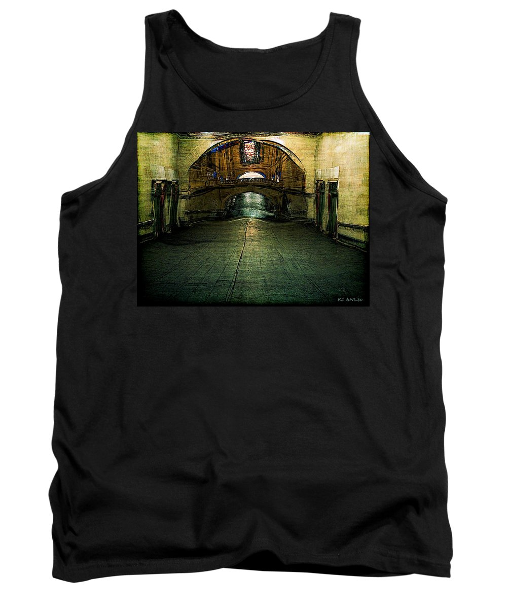 Archway Tank Top featuring the painting Slouching Towards Bethlehem by RC DeWinter
