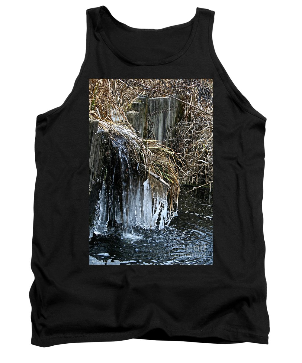 Outdoors Tank Top featuring the photograph Slow Flow by Susan Herber