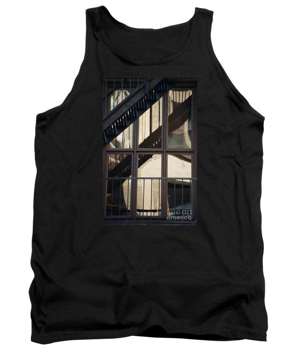Architecture Tank Top featuring the photograph Soho Escapes by Dennis Knasel