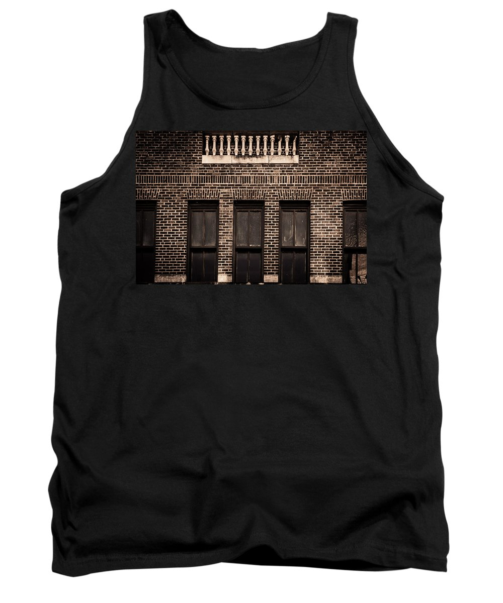 Columns Tank Top featuring the photograph Spindles And Bricks by Melinda Ledsome