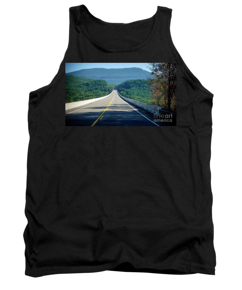 Spirit Lake Tank Top featuring the photograph Spirit Lake Memorial Journey by Susan Garren
