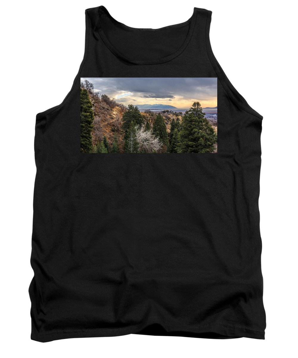 Gigimarie Tank Top featuring the photograph Splendid Views by Gina Herbert