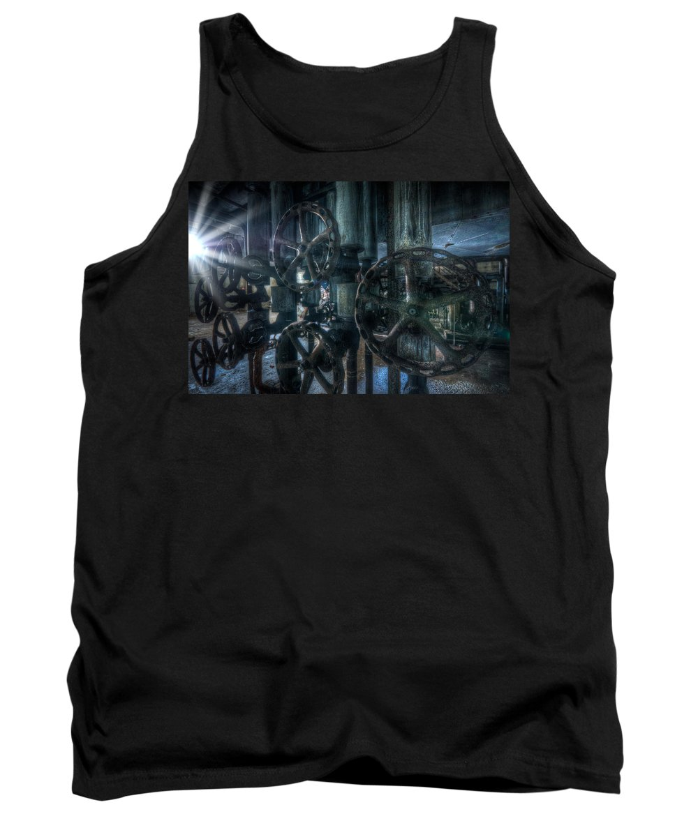 Germany Tank Top featuring the digital art Spot Cocks by Nathan Wright