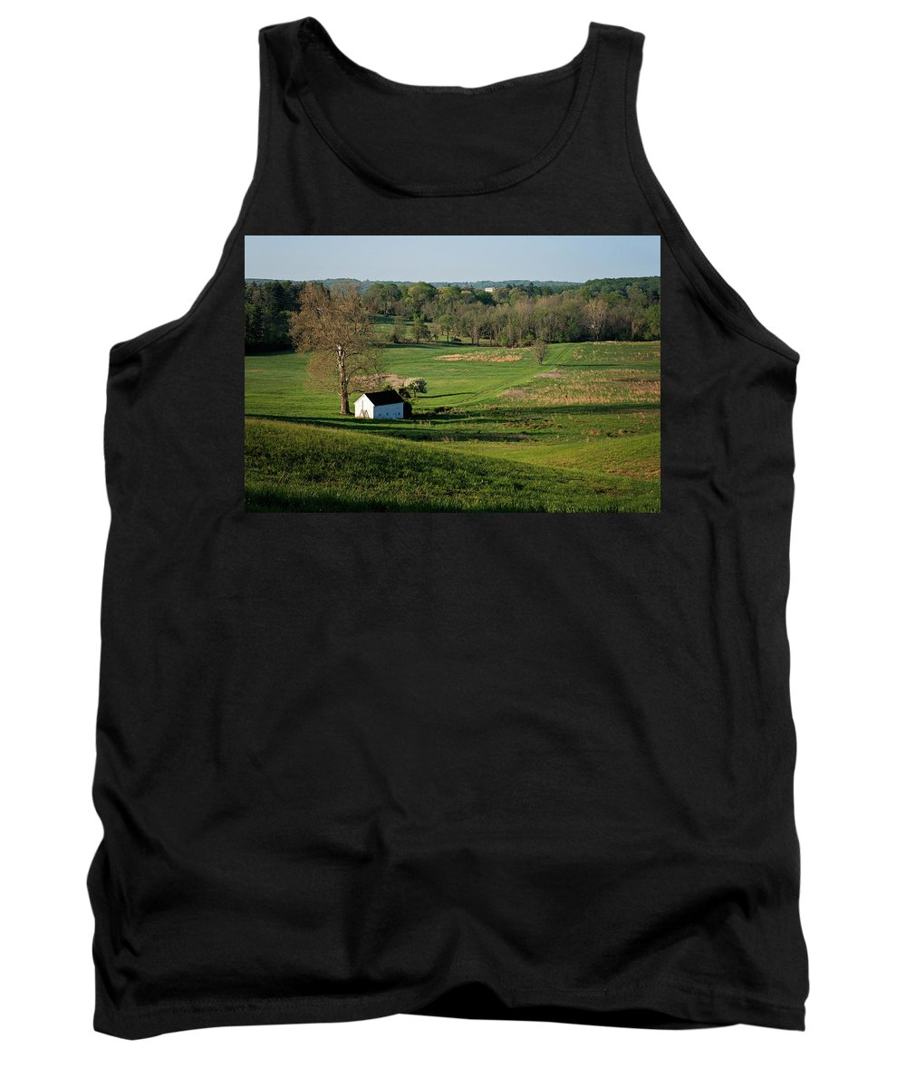 Nature Tank Top featuring the photograph Spring At Maurice Stevens Spring House by Michael Porchik