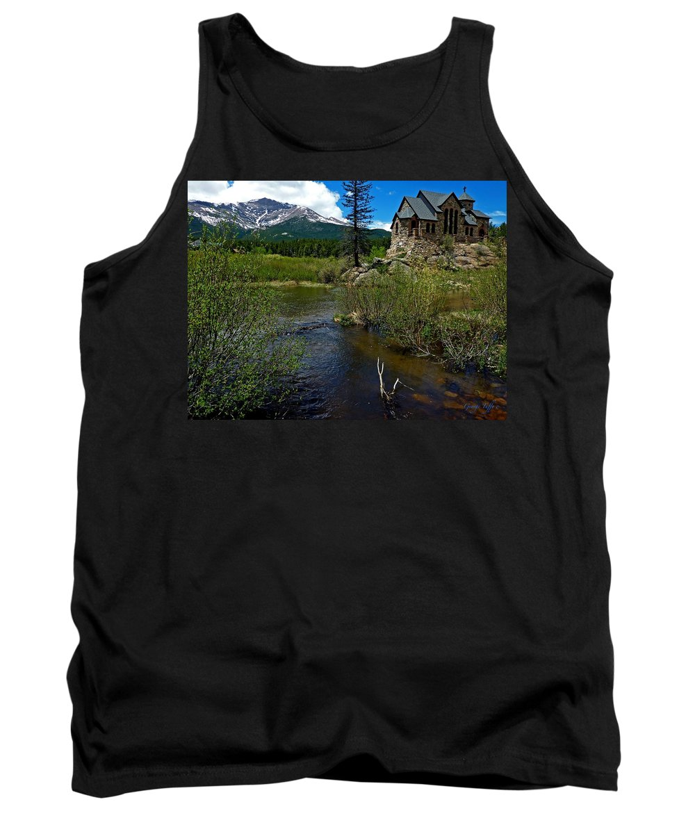 Tank Top featuring the photograph Church On The Rock by George Tuffy
