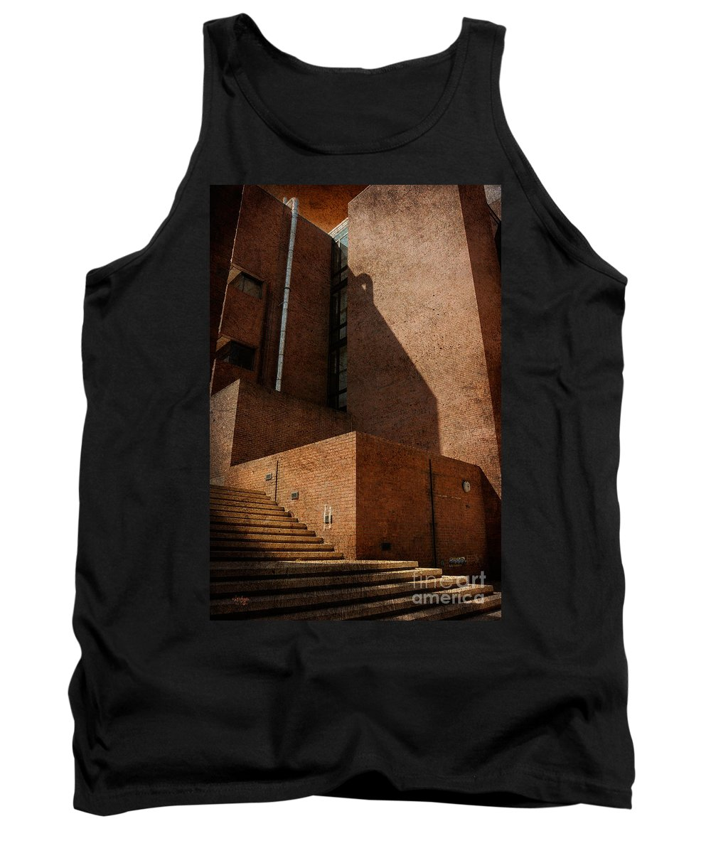 Stairs Tank Top featuring the photograph Stairway To Nowhere by Lois Bryan