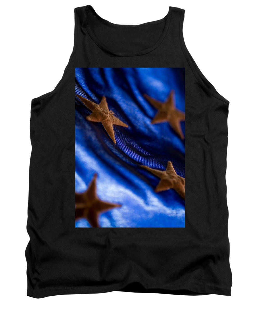 United States Flag Tank Top featuring the photograph Stars by Craig Forhan