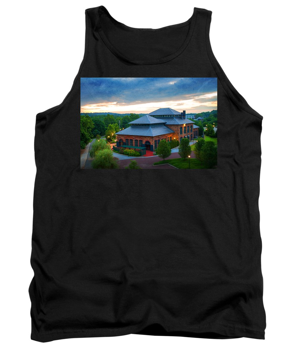 Industry Tank Top featuring the photograph Steeling History by Michael Porchik