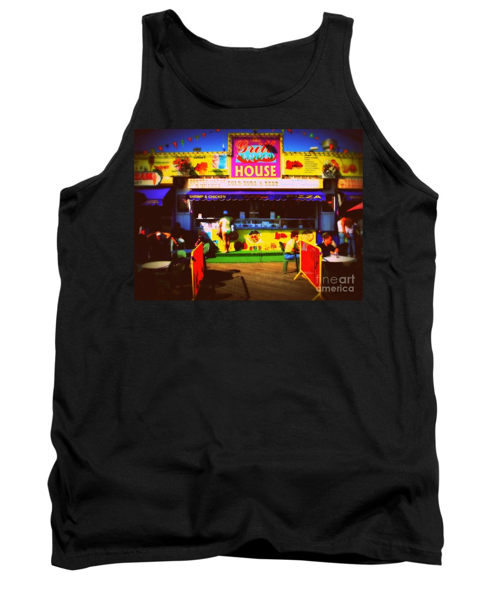 Colpr Tank Top featuring the photograph Summer by Mark Gilman