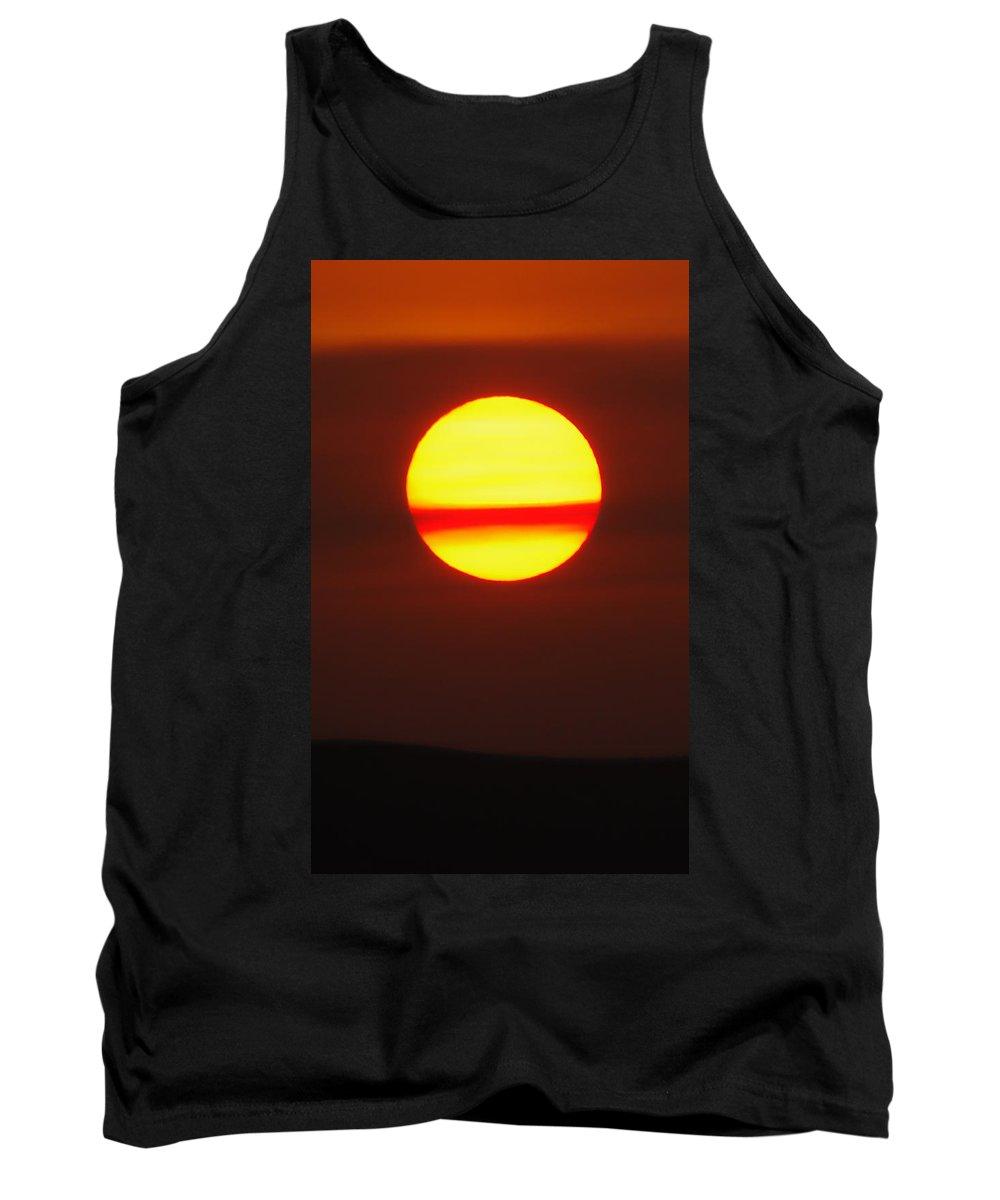 Sun Tank Top featuring the photograph Sun Belt by Donna Blackhall