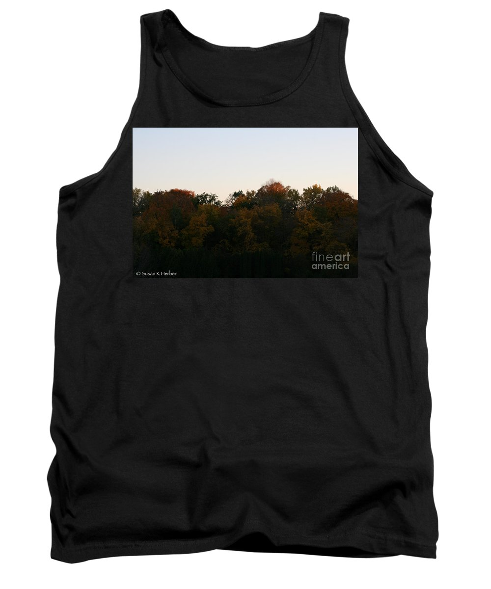 Flower Tank Top featuring the photograph Sun Soaked by Susan Herber