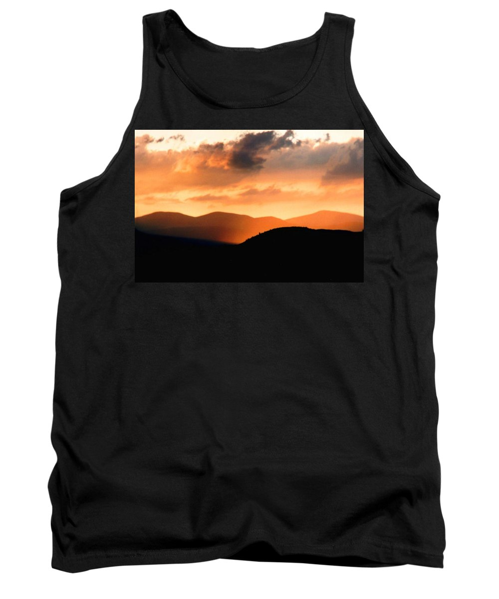 Sunrise Tank Top featuring the photograph Sunrise On The Hills by Jason Micheal