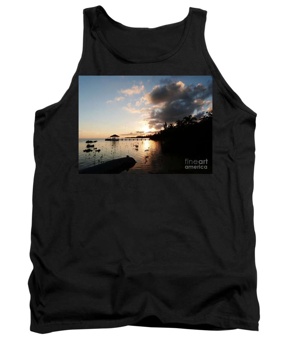 Color Tank Top featuring the photograph Sunset Dreams by Amar Sheow