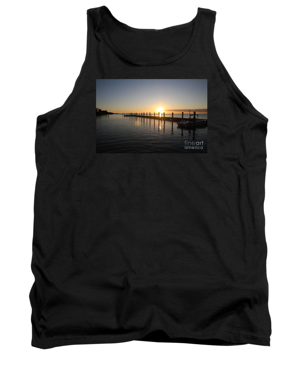 Sunset Tank Top featuring the photograph Sunset On Key Largo by Christiane Schulze Art And Photography