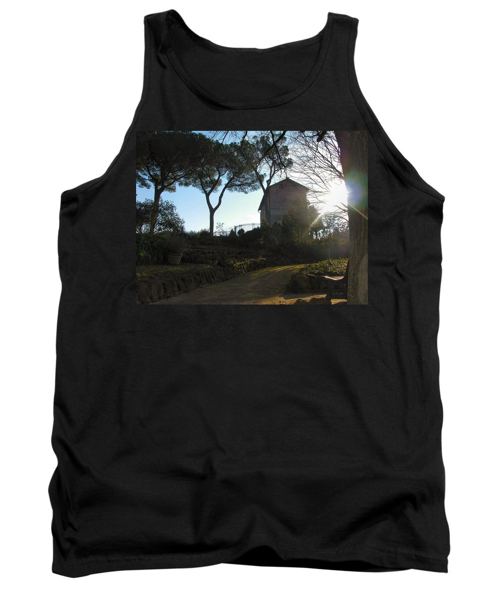 Landscape Tank Top featuring the photograph Sunspots by Louis Yamonico