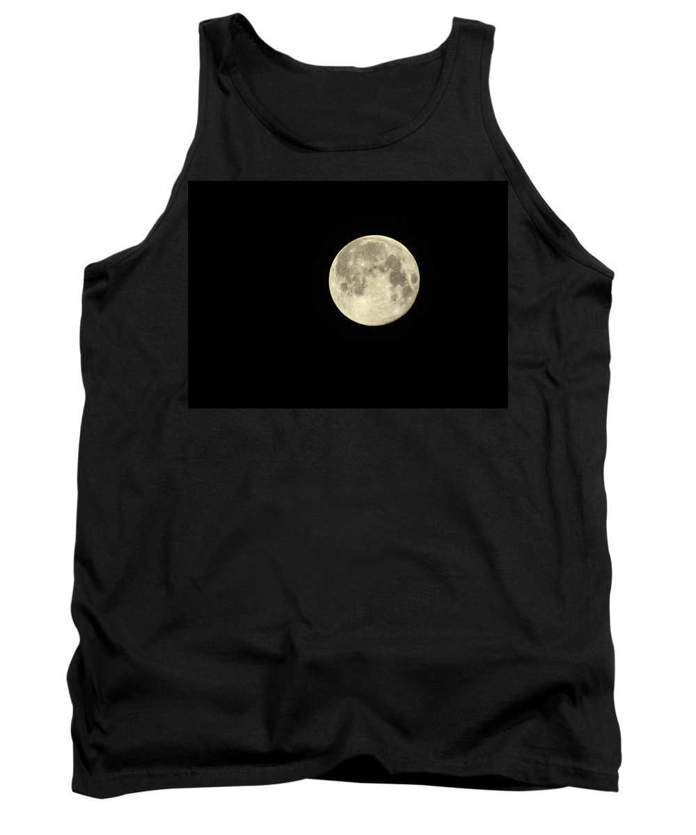Steve Harrington Tank Top featuring the photograph Super Moon by Steve Harrington