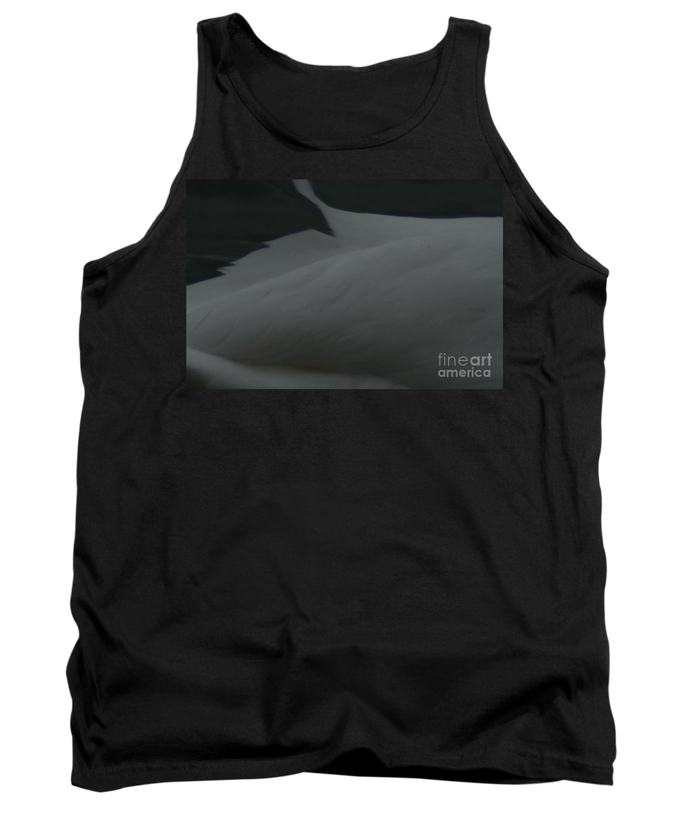 Swan Tank Top featuring the photograph Swan Feathering by Randy J Heath