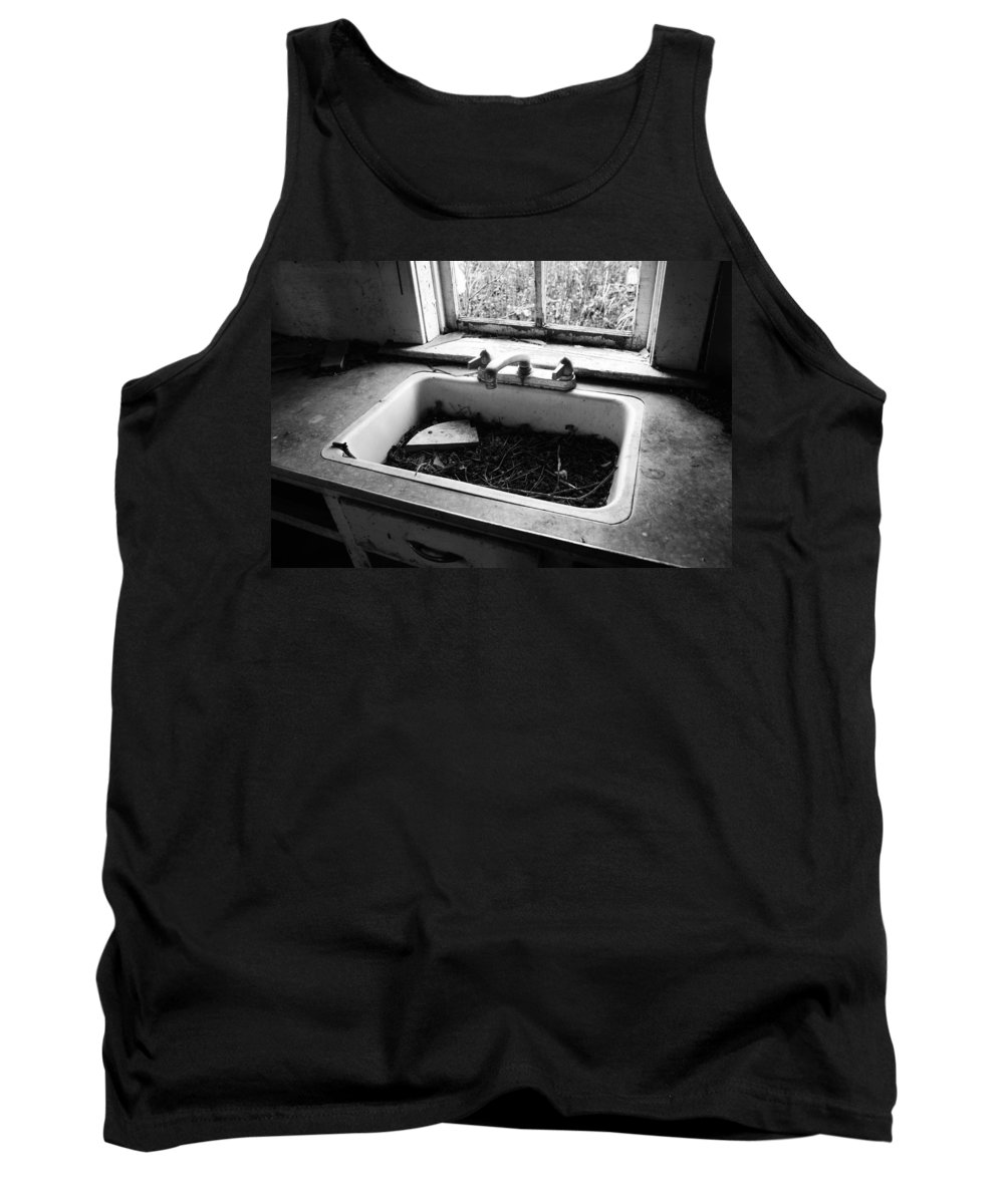 Vancouver Tank Top featuring the photograph Tabletops Confessions by The Artist Project