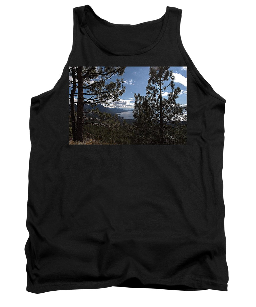 Trees Tank Top featuring the photograph Tahoe Trees by Lynn Bawden