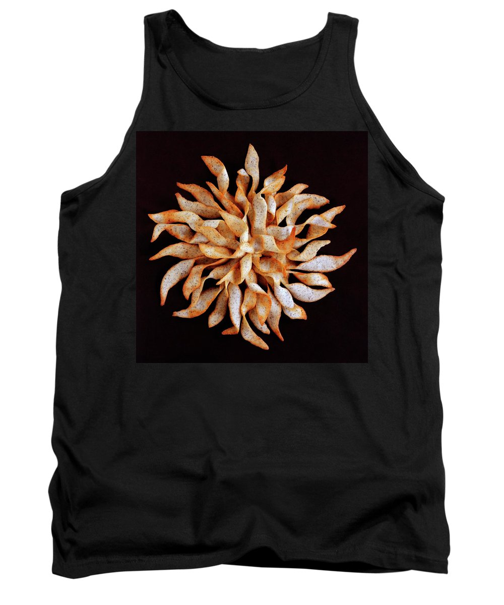 Cooking Tank Top featuring the photograph Tea And Honey Cookies by Romulo Yanes